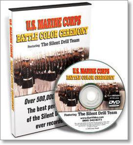 U.S. Marine Corps Battle Color Ceremony - ...