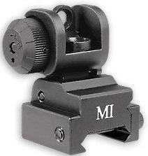 Flip Up Rear Sight For AR-15 / M4 Flat Top...