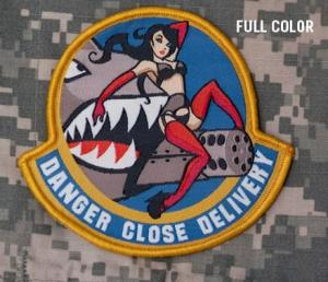 Danger Close Delivery, Patch in Color