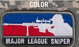 Major League Sniper, Patch in Color
