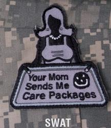 Your Mom Sends, Patch in Swat