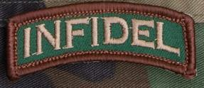 Infidel Tab Patch, (Forest Cam in Color)