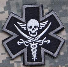 Tactical Medic Patch, (Swat in Color)