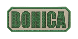 BOHICA PVC VELCRO PATCH IN ARID