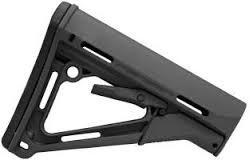 CTR CARBINE STOCK IN BLACK